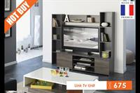LINK TV UNIT (MADE IN FRANCE) FOR DHS 675 ONLY